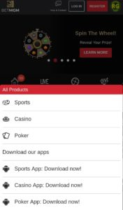 BetMGM Mobile Casino