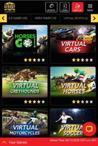 Golden Nugget NJ Mobile Virtual Sports