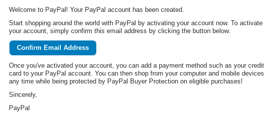 PayPal casinos signup step 8