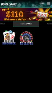 Dover Downs Online Casino