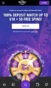 Hard Rock Mobile Casino
