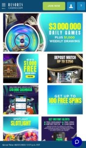 Resorts Online Casino NJ