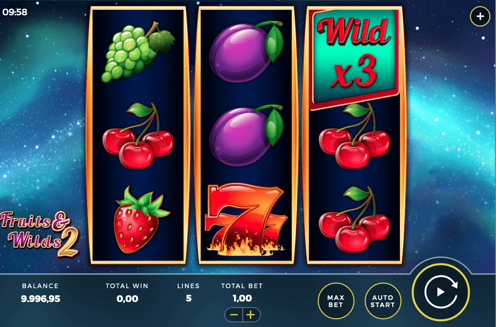 Fruit and Wilds Slot 2 Bally