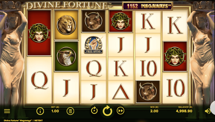Play Divine Fortune at NetEnt Casinos