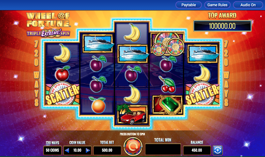 Play Wheel of Fortune online at IGT Casinos