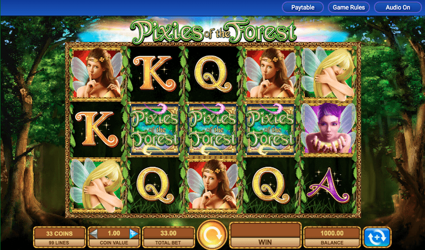 Play Pixies of the Forest Slot at IGT online casinos
