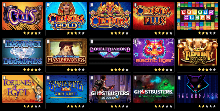 Play slots at IGT casinos USA