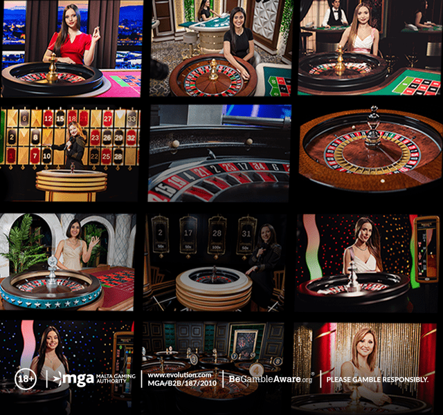 Play Live Roulette at US Evolution Gaming Casinos