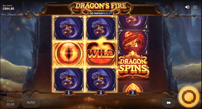 Play Dragon's Fire Slot at US Online Casinos