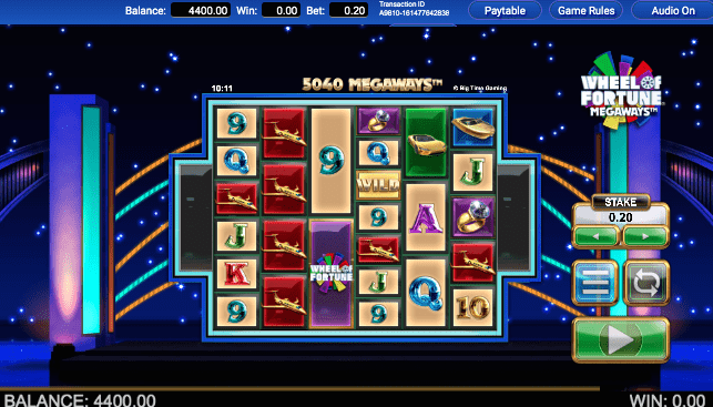 Play Wheel of Fortune Slot at US Online Casinos
