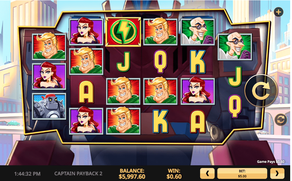Play Captain Payback at High 5 Games Casinos in the USA