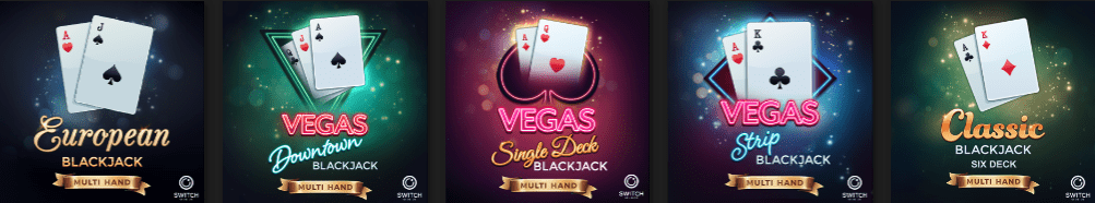Microgaming Casino table games