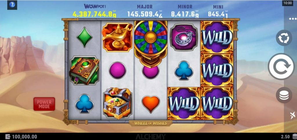 Play Wheel of Wishes slot at Microgaming Casinos online