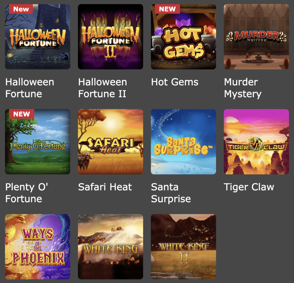 Play Playtech Casino Slots online in the USA